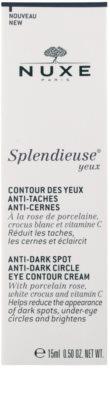 Nuxe Splendieuse Crema pentru ochi împotriva petelor de pigment și cearcane 2