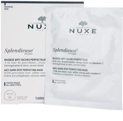 Nuxe Splendieuse máscara anti-manchas de pigmentação 3