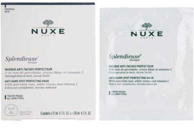 Nuxe Splendieuse máscara anti-manchas de pigmentação 4
