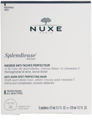 Nuxe Splendieuse máscara anti-manchas de pigmentação 5