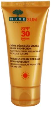 Nuxe Sun crema solar facila SPF 30