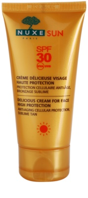 Nuxe Sun creme solar facial SPF 30