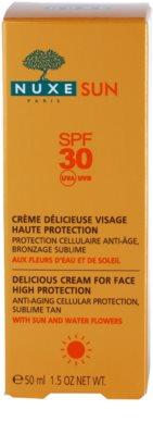 Nuxe Sun opalovací krém na obličej SPF 30 3