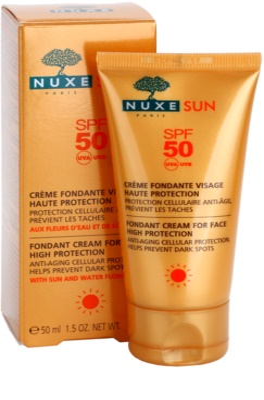 Nuxe Sun opalovací krém na obličej SPF 50 2