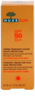 Nuxe Sun opalovací krém na obličej SPF 50 3
