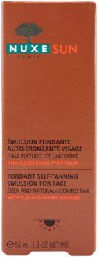 Nuxe Sun emulsión autobronceadora para el rostro 3