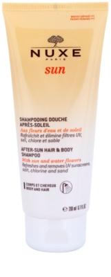 Nuxe Sun šampon po opalování na tělo a vlasy
