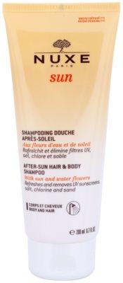 Nuxe Sun шампунь після засмаги для тіла та волосся