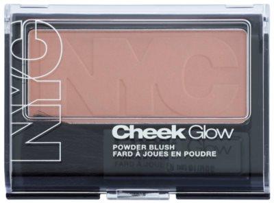NYC Cheek Glow blush cu pensula 1