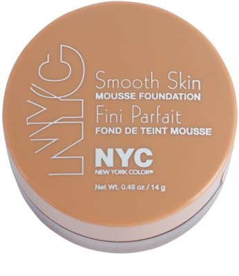 NYC Smooth Skin Mousse Foundation maquillaje 1