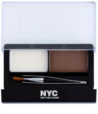 NYC Browser Brush-On conjunto para sobrancelhas perfeitas