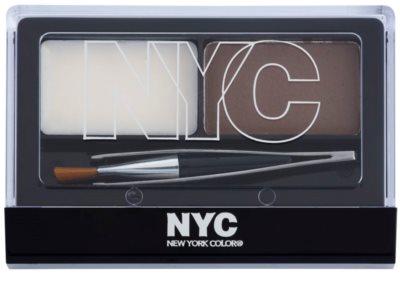 NYC Browser Brush-On набір для моделювання  ідеальної форми брів 1