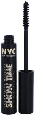 NYC Show Time Volumizing Mascara szempillaspirál a dús pillákért