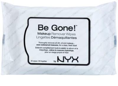 NYX Professional Makeup Be Gone! очищуючі серветки