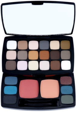 NYX Professional Makeup Bohéme Chic Lidschatten & Kontourpalette