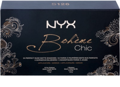 NYX Professional Makeup Bohéme Chic Multifunctional Face Palette 2