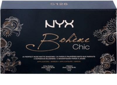 NYX Professional Makeup Bohéme Chic multifunkční paleta 2