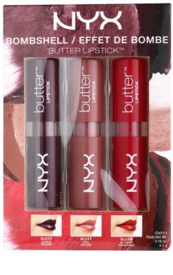 NYX Professional Makeup Butter Bombshell kosmetická sada I.