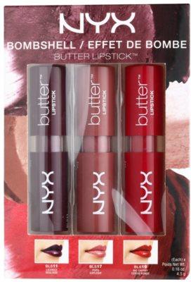 NYX Professional Makeup Butter Bombshell Kosmetik-Set  I.
