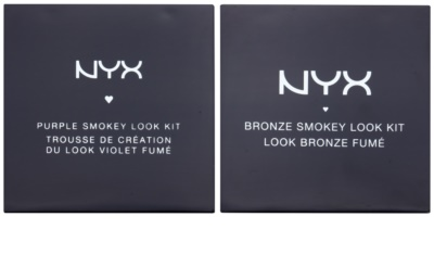 NYX Professional Makeup Smokey Look Bronze & Purple coffret I. 1