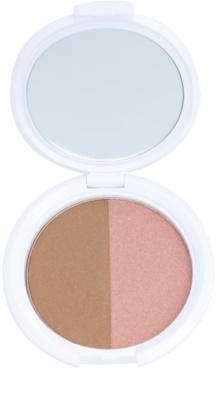NYX Professional Makeup Bronzer & Blusher Combo autobronzant și blusher 2 in 1