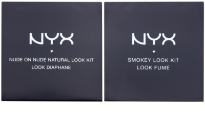 NYX Professional Makeup Smokey Look Classic & Natural Kosmetik-Set  I. 1