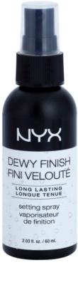 NYX Professional Makeup Dewy Finish Fixierungsspray mit langanhaltender Wirkung