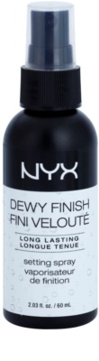 NYX Professional Makeup Dewy Finish utrwalajacy spray z dlugotrwalym efektem