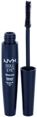 NYX Professional Makeup Doll Eye Wasserfester Mascara