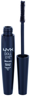 NYX Professional Makeup Doll Eye водостійка туш для вій