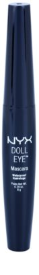 NYX Professional Makeup Doll Eye водостійка туш для вій 1