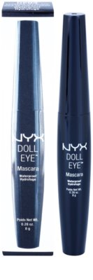 NYX Professional Makeup Doll Eye водостійка туш для вій 2