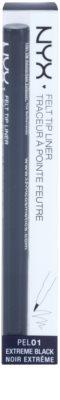 NYX Professional Makeup Felt Tip Liner підводка для очей 2