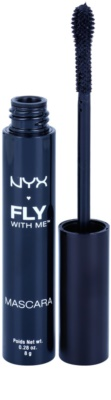 NYX Professional Makeup Fly With Me Mascara für längere und dichtere Wimpern