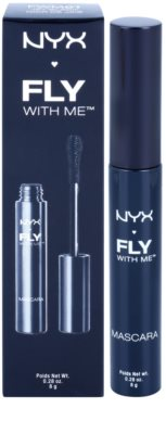 NYX Professional Makeup Fly With Me máscara de alongamento e para dar volume 2