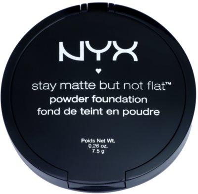 NYX Professional Makeup HD Studio Puder für mattes Aussehen 2