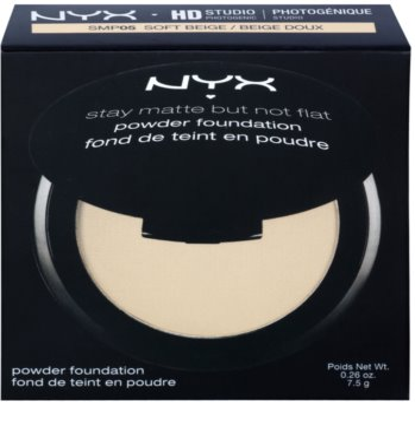 NYX Professional Makeup HD Studio Puder für mattes Aussehen 3