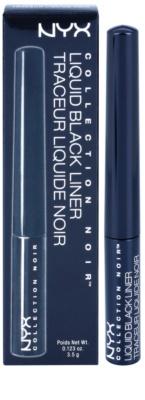 NYX Cosmetics Collection Noir Liquid течни очни линии 2