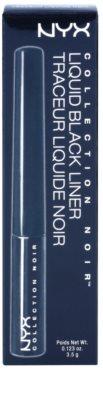 NYX Cosmetics Collection Noir Liquid течни очни линии 3