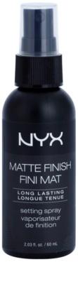 NYX Cosmetics Matte Finish pršilo za fiksiranje z mat učinkom