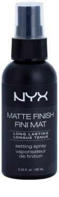 NYX Professional Makeup Matte Finish спрей для фіксації з матуючим ефектом