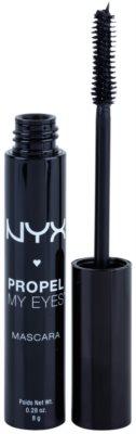 NYX Cosmetics Propel My Eyes maskara za volumen in goste trepalnice