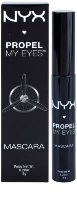 NYX Cosmetics Propel My Eyes maskara za volumen in goste trepalnice 2