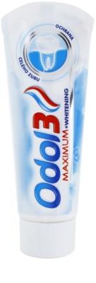Odol 3  Maximum pasta de dientes protección total con efecto blanqueador