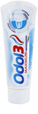 Odol 3  Maximum zobna pasta za popolno zaščito zob z belilnim učinkom