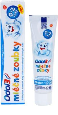 Odol 3  Milk Teeth dentífrico para crianças 1