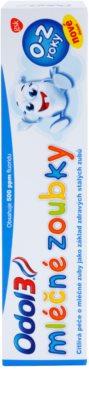 Odol 3  Milk Teeth pasta de dientes para niños 2