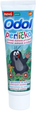 Odol Perlička pasta de dentes suave para crianças