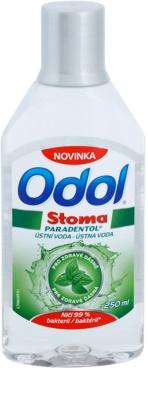 Odol Stoma Paradentol elixir bocal para dentes e gengivas saudáveis