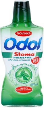 Odol Stoma Paradentol Mundwasser für gesunde Zähne und Zahnfleisch